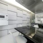 Дизайн кухни в стиле хай-тек - фото (48)