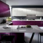 Дизайн кухни в стиле хай-тек - фото (5)