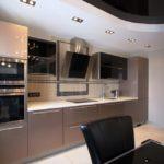 Дизайн кухни в стиле хай-тек - фото (6)