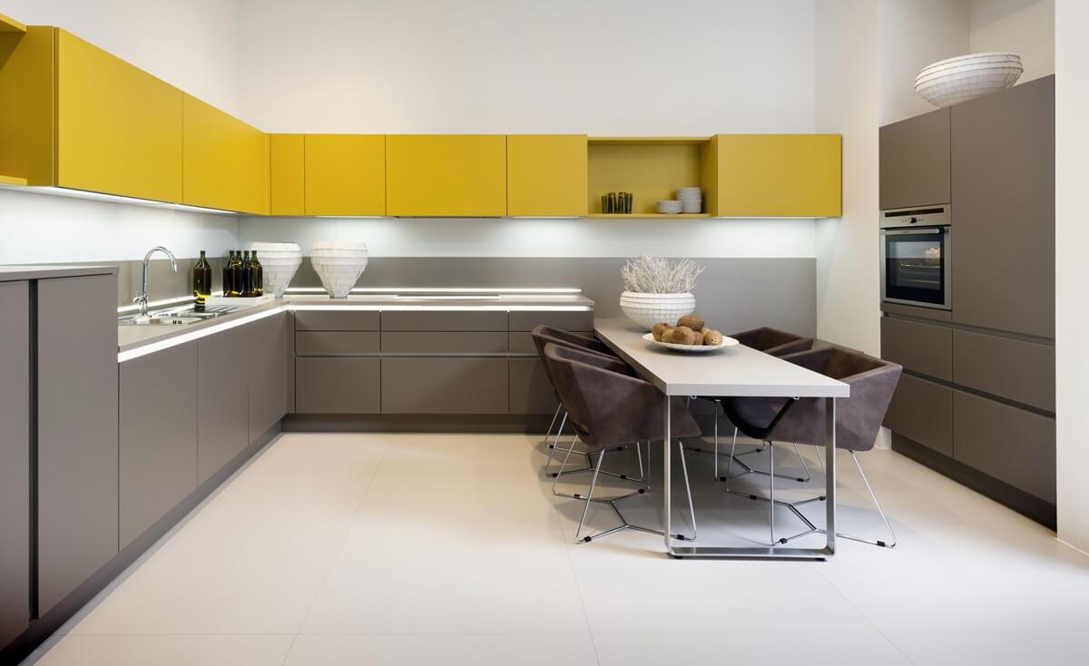 Дизайн кухни в стиле хай-тек - фото (7)