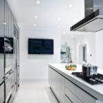 Дизайн кухни в стиле хай-тек - фото (8)