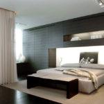 Дизайн спальни в стиле хай-тек (10)