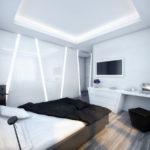 Дизайн спальни в стиле хай-тек (16)