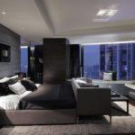 Дизайн спальни в стиле хай-тек (2)