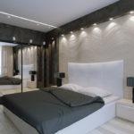 Дизайн спальни в стиле хай-тек (23)