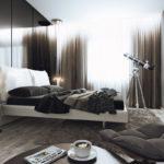 Дизайн спальни в стиле хай-тек (24)