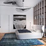 Дизайн спальни в стиле хай-тек (4)