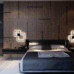 Дизайн спальни в стиле хай-тек (6)
