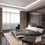 Дизайн спальни в стиле хай-тек (8)