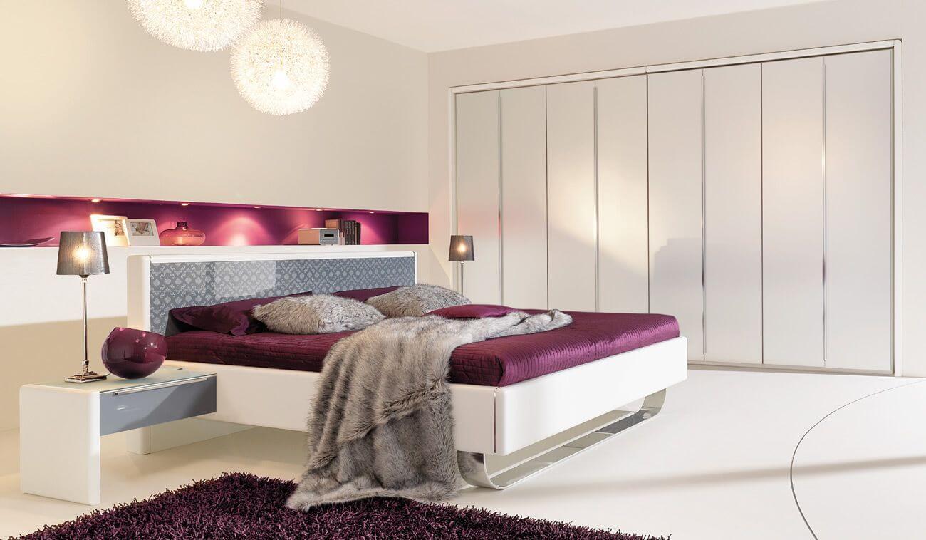 Кровать для спальни в стиле хай-тек (2)