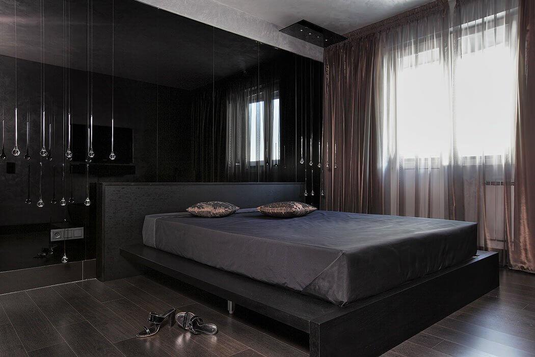 Кровать для спальни в стиле хай-тек (3)