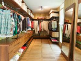 Обустройство и дизайн гардеробной