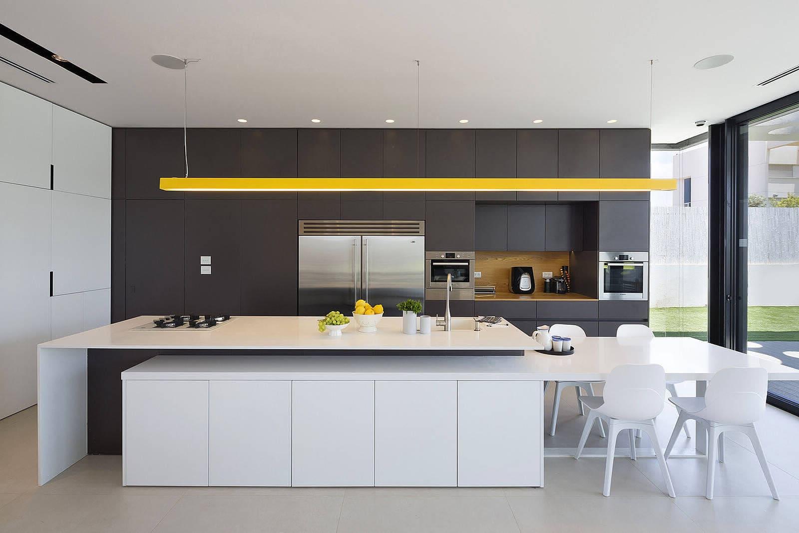 Цвета для кухни в стиле минимализм