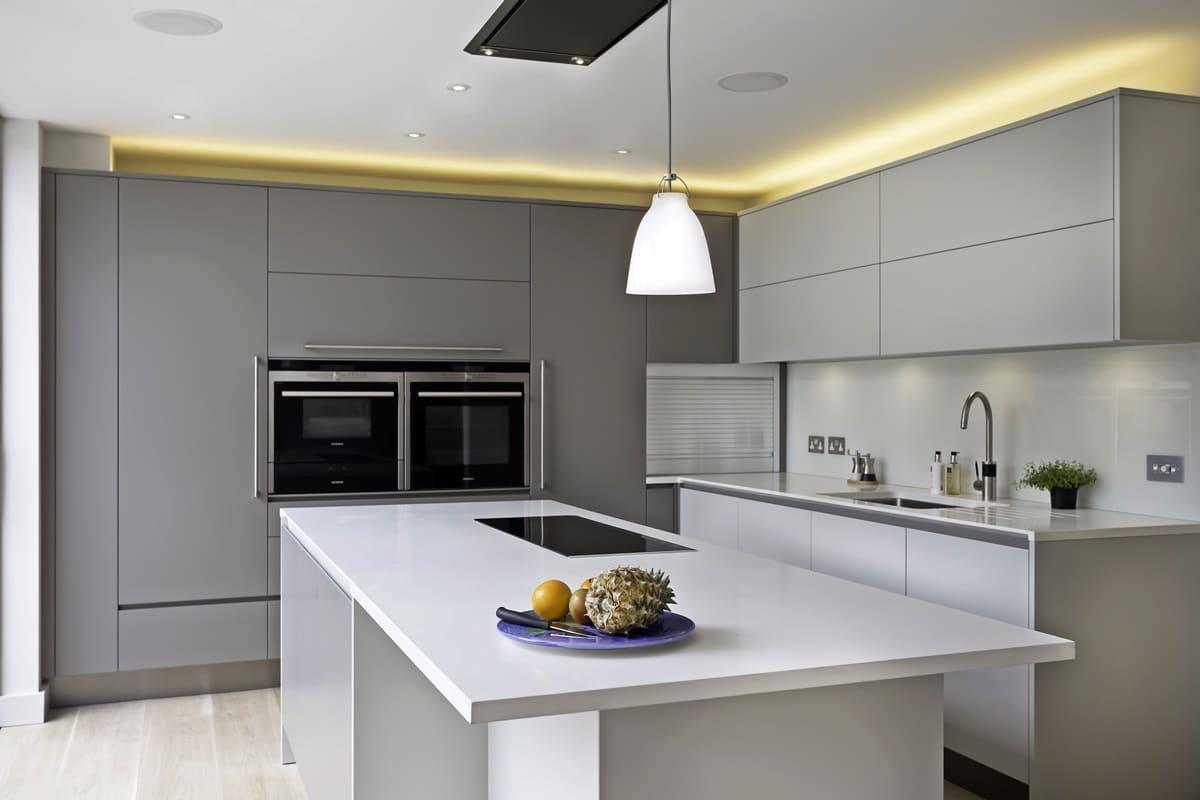 Diseño de cocina minimalista