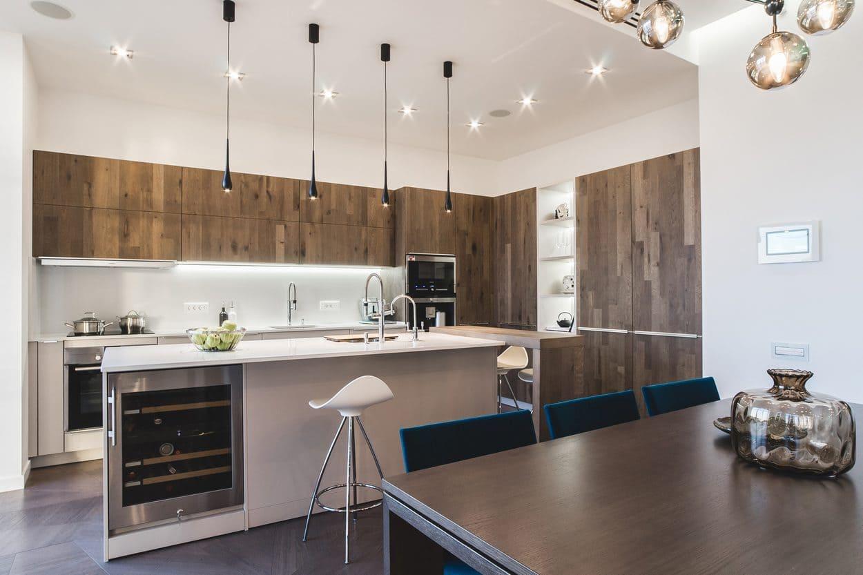 Кухня в стиле минимализм - фото (10)