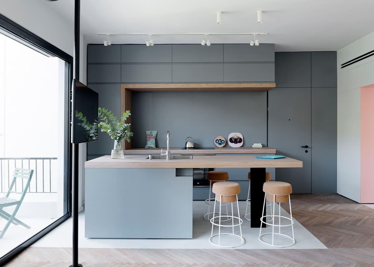 Кухня в стиле минимализм - фото (35)