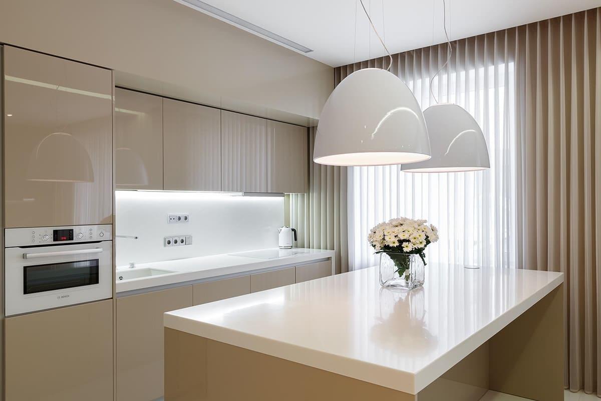 Кухня в стиле минимализм - фото