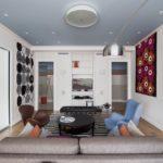 Матовый натяжной потолок - фото (13)