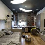 Матовый натяжной потолок - фото (25)