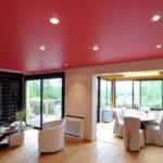 Матовый натяжной потолок - фото (31)