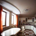 Матовый натяжной потолок - фото (39)
