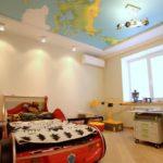 Матовый натяжной потолок - фото (42)