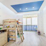Матовый натяжной потолок - фото (44)