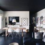 Матовый натяжной потолок - фото (60)