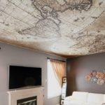 Матовый натяжной потолок - фото (62)