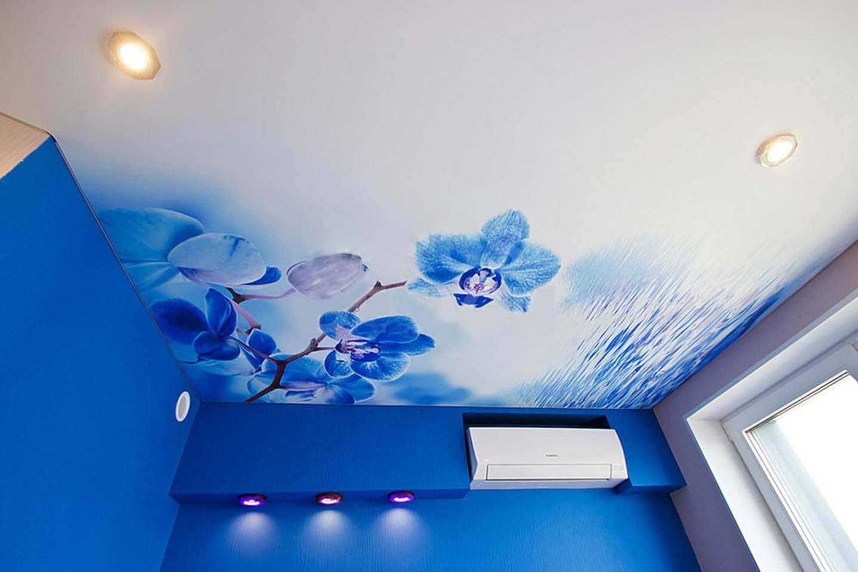 Натяжной фото-потолок
