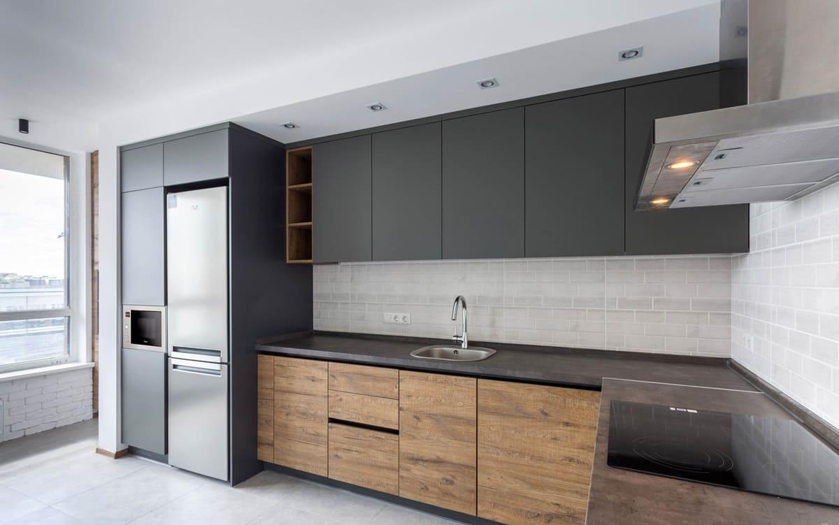 Палитра кухни в стиле минимализм