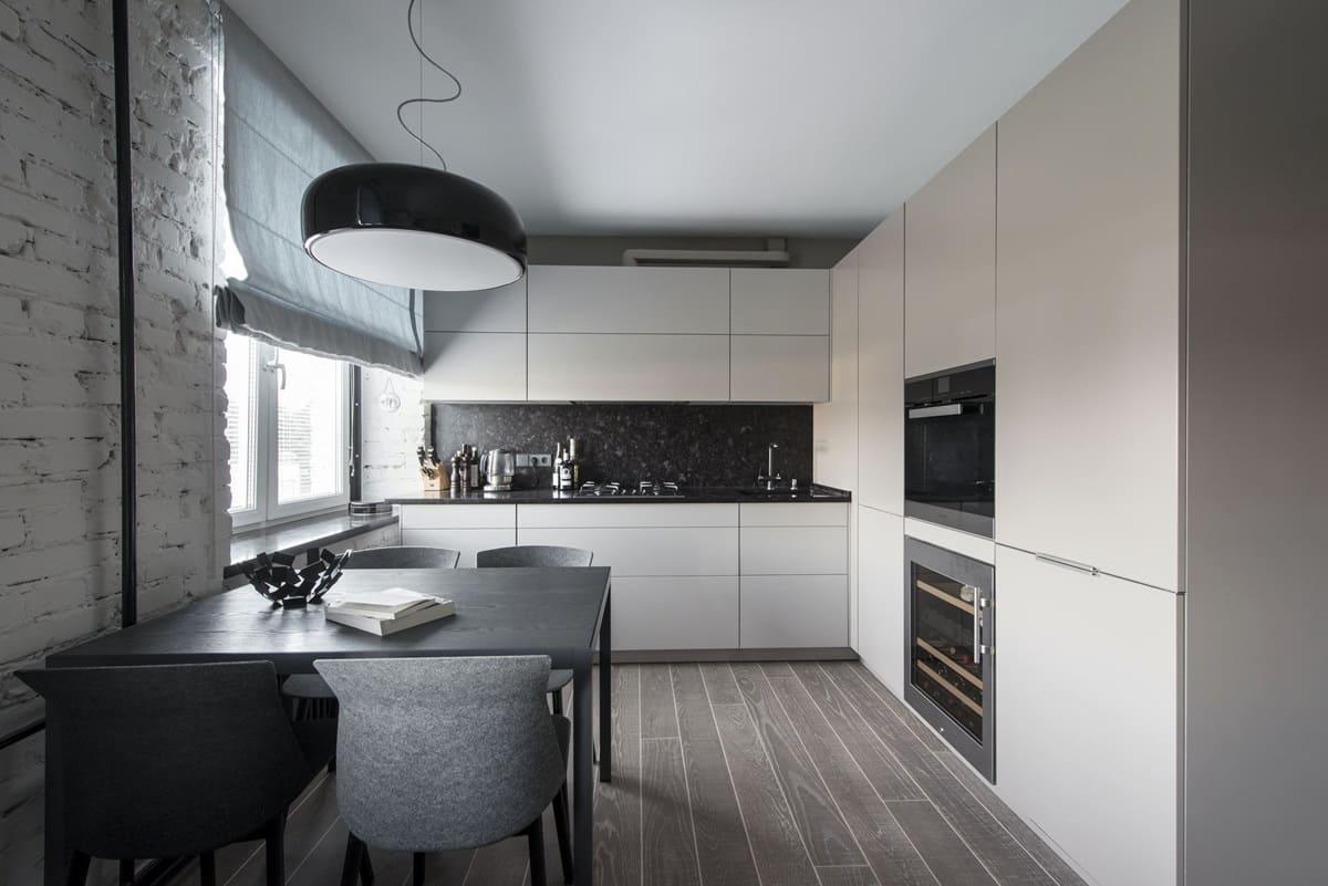 Потолок для кухни в стиле минимализм