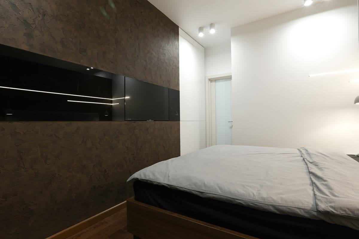 Спальня в стиле минимализм (2)