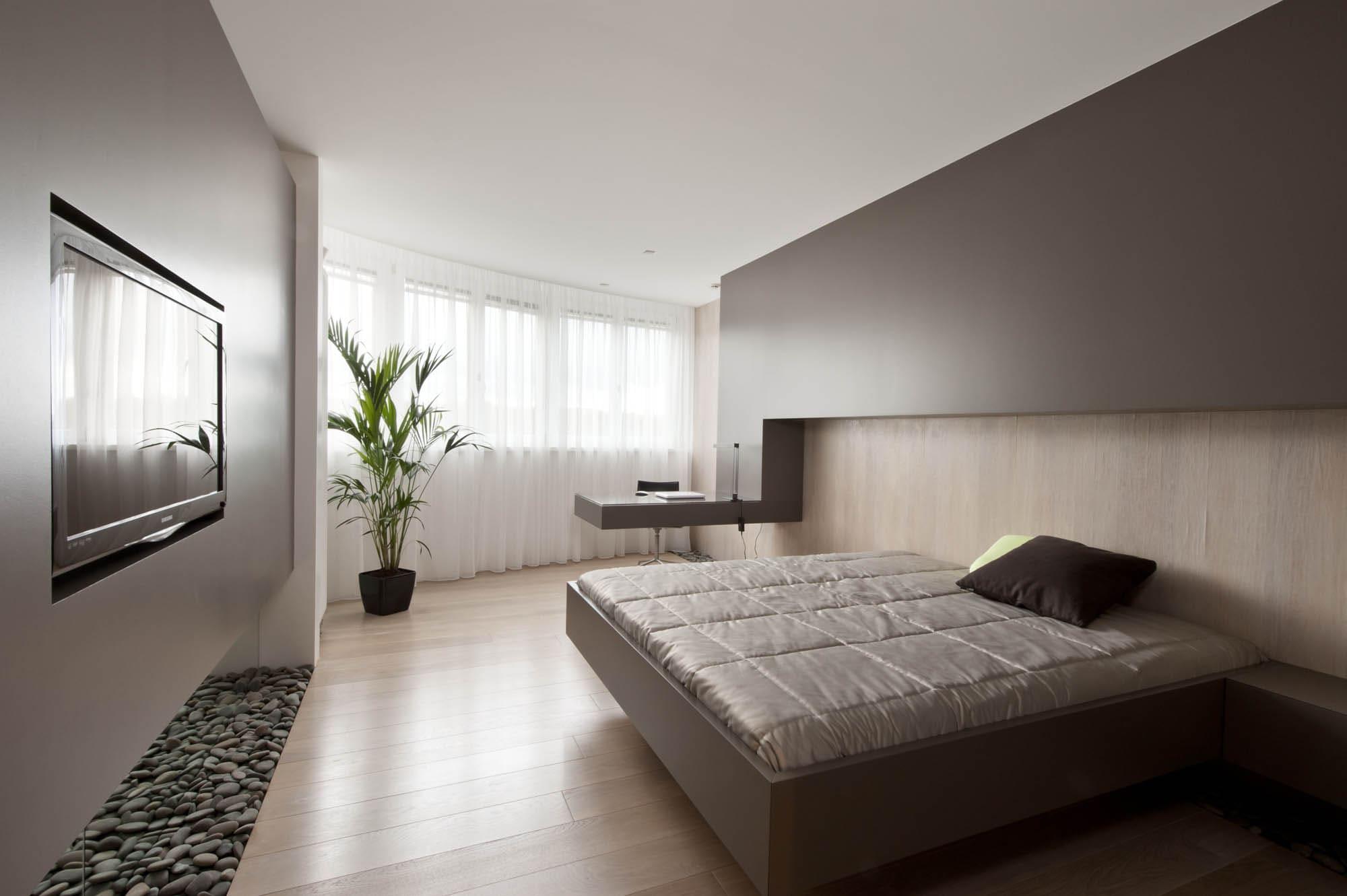 Спальня в стиле минимализм - фото (11)