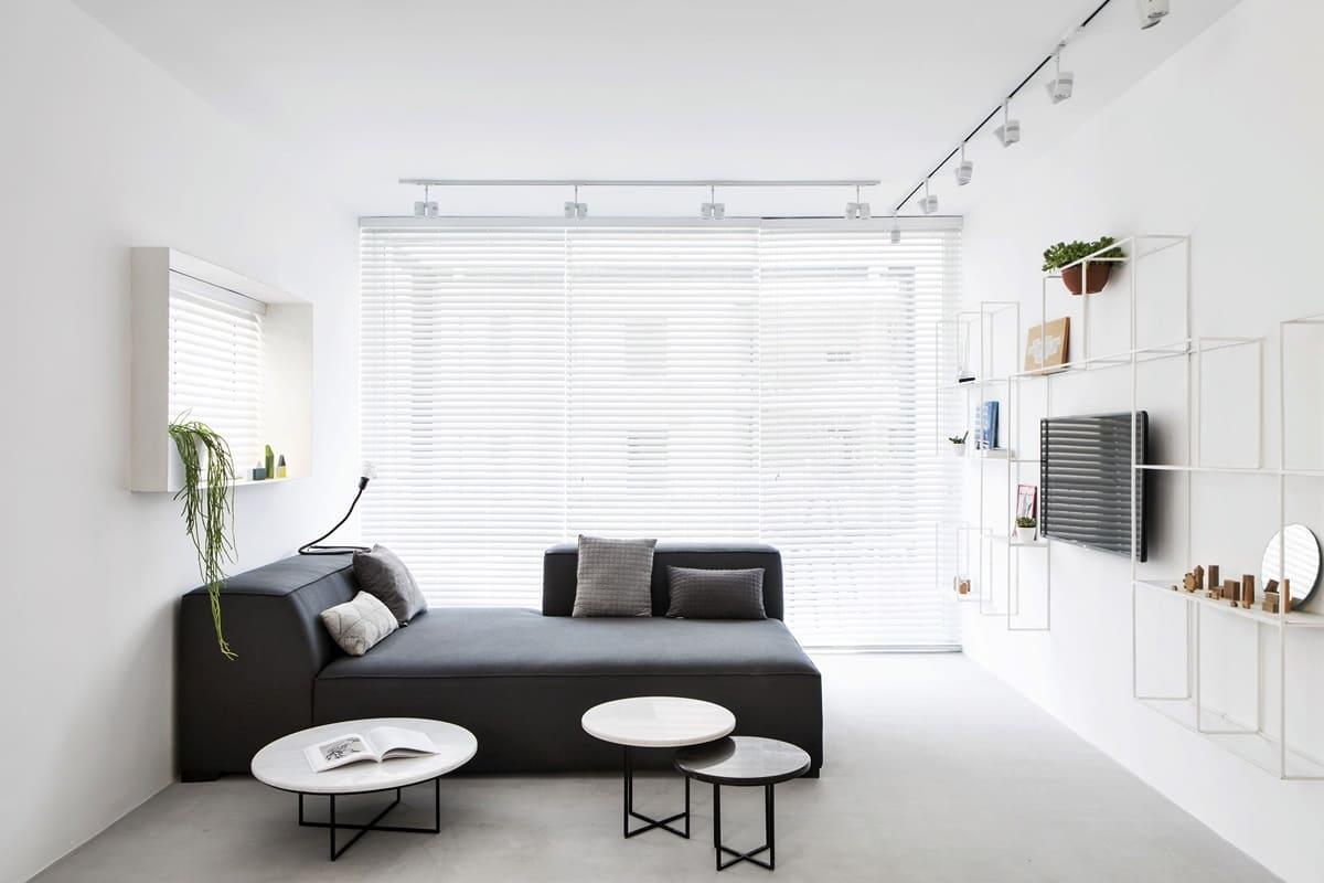 Спальня в стиле минимализм - фото (22)
