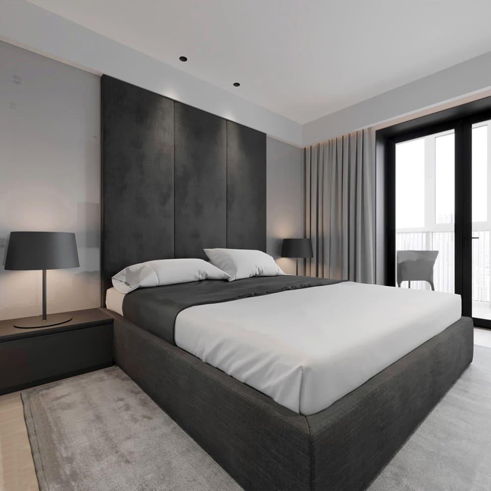 Спальня в стиле минимализм - фото (27)
