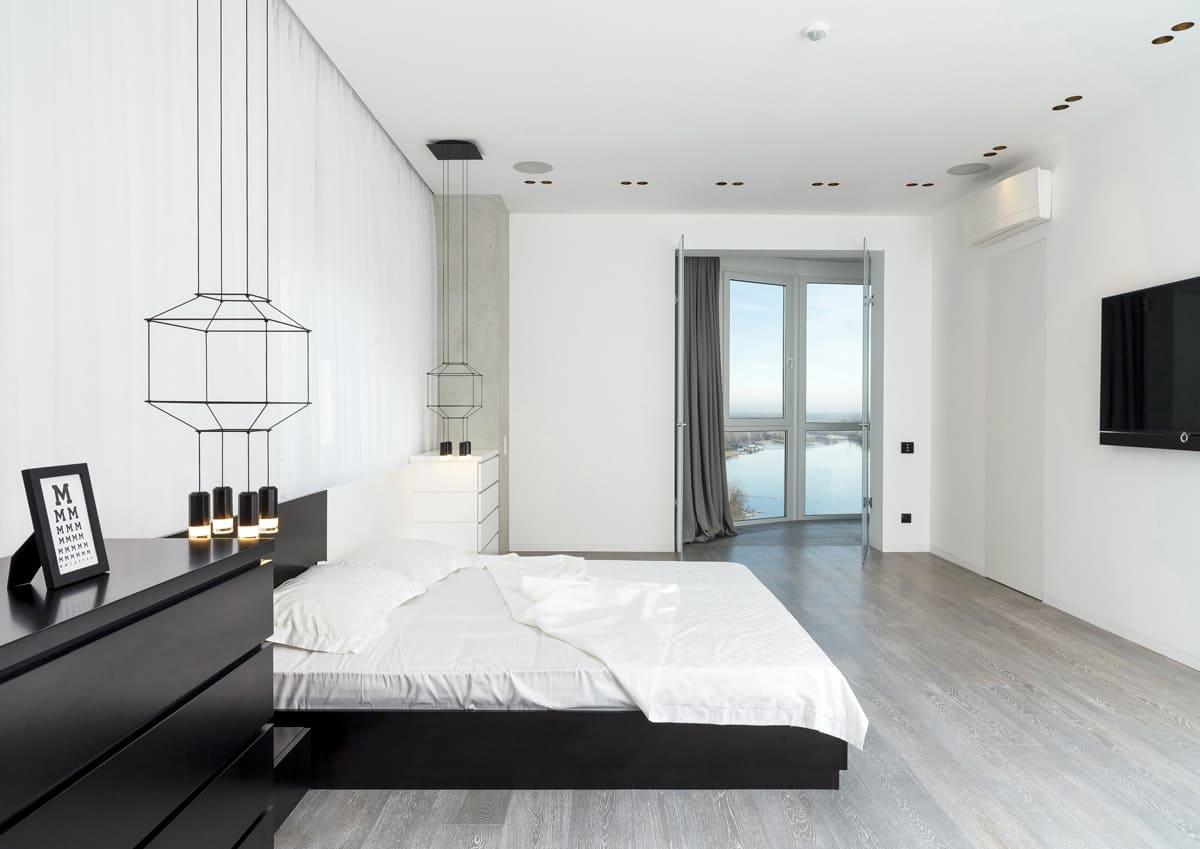 Спальня в стиле минимализм - фото (32)