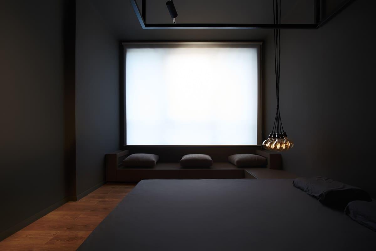 Спальня в стиле минимализм - фото (37)