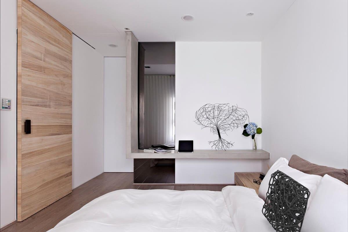 Спальня в стиле минимализм - фото (42)