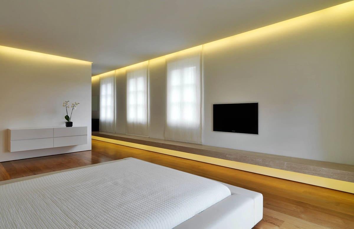 Спальня в стиле минимализм - фото (47)