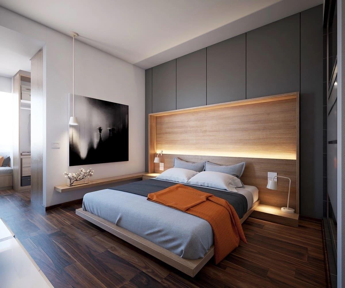 Спальня в стиле минимализм - фото (48)