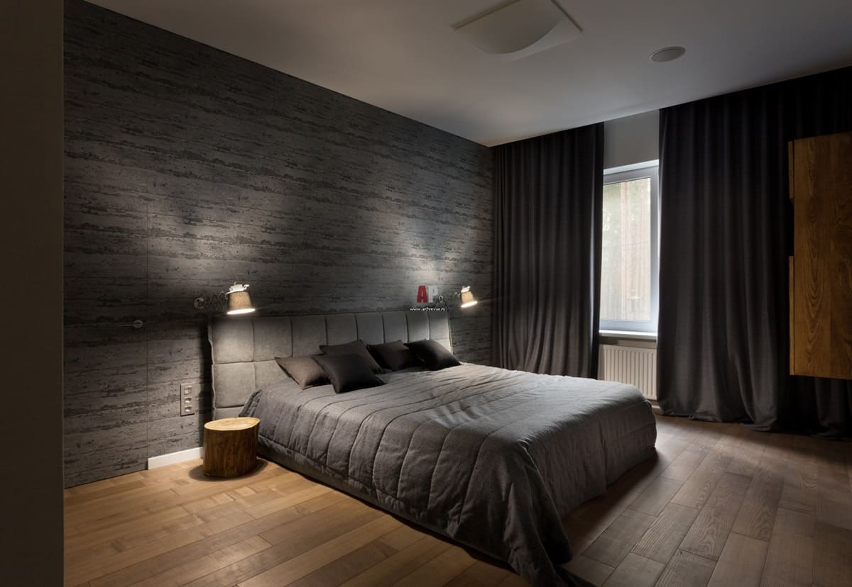 Спальня в стиле минимализм - фото (6)