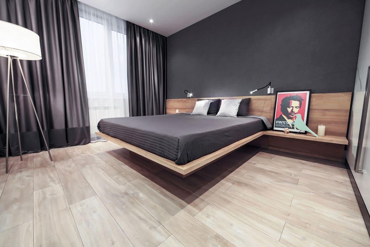 Спальня в стиле минимализм - фото