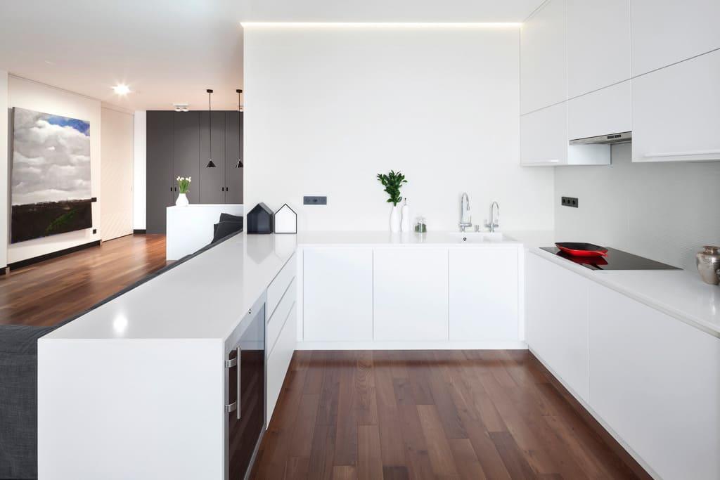 Стены кухни в стиле минимализм - фото (2)