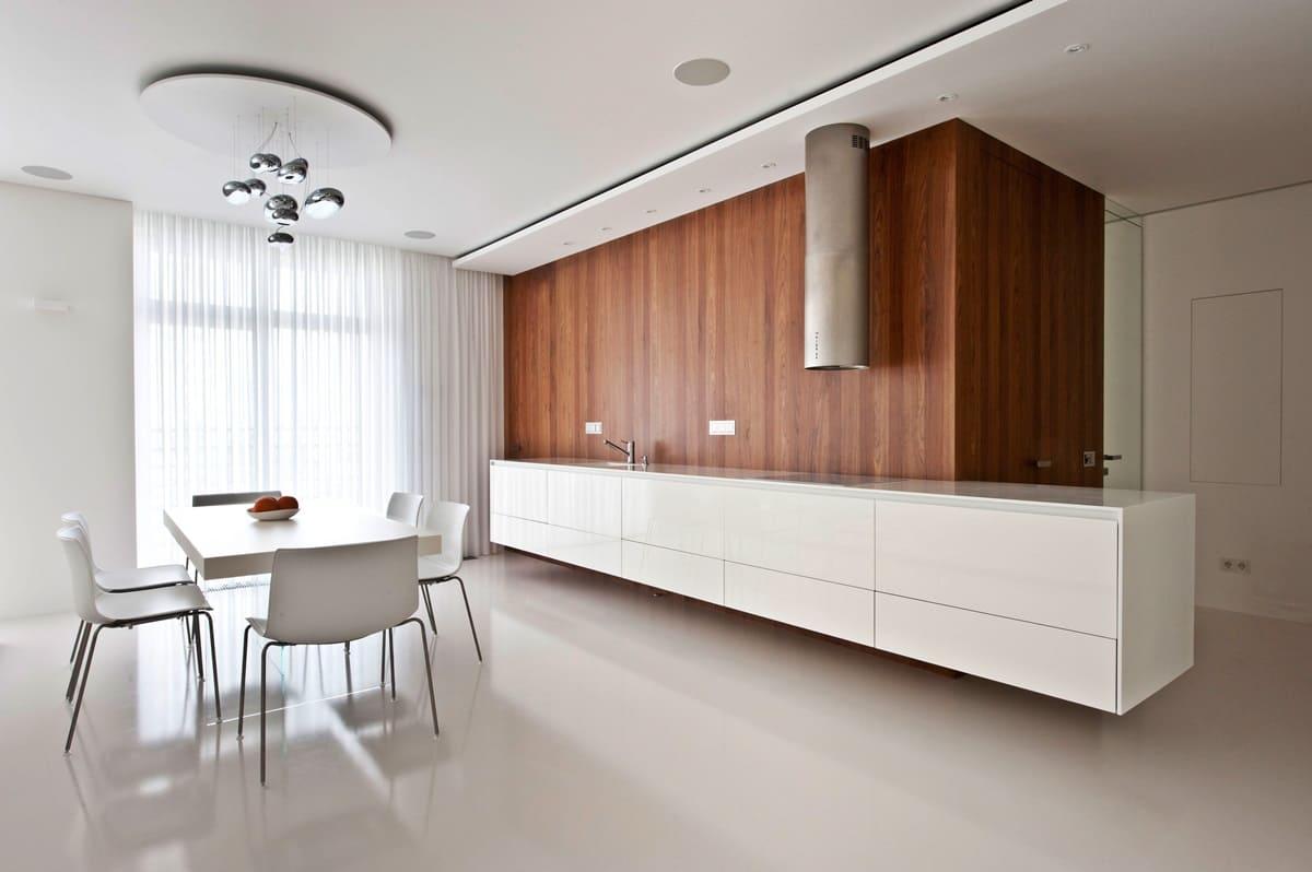 Стены кухни в стиле минимализм - фото (3)