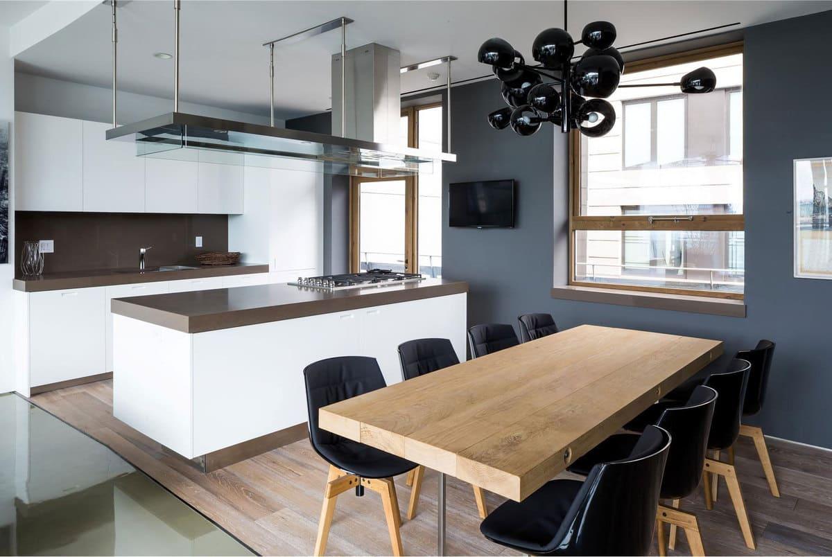 Стол для кухни в стиле минимализм