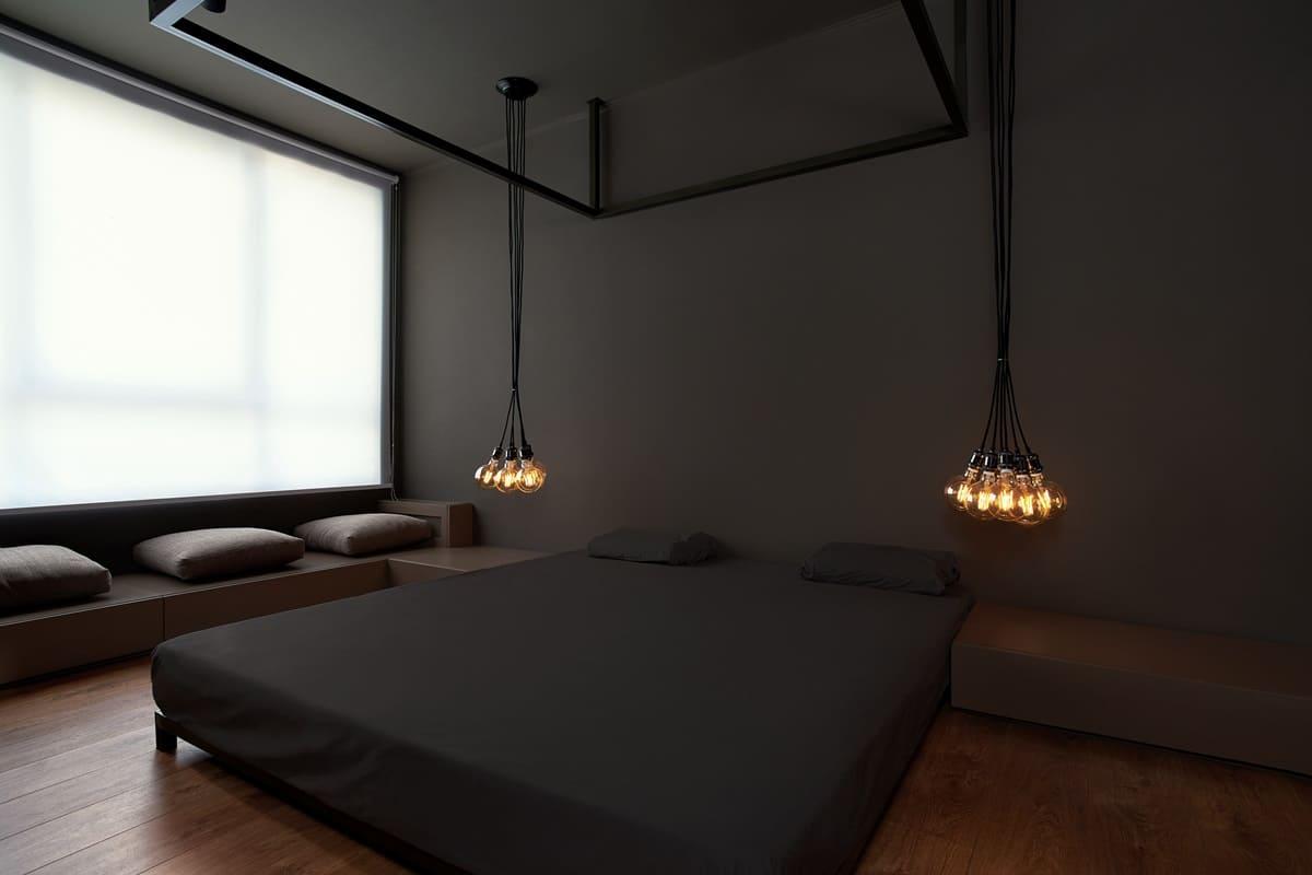 Варианты дизайна спальни в стиле минимализм