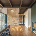 Дом облицованный камнем - фото (11)