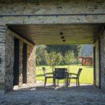 Дом облицованный камнем - фото (6)
