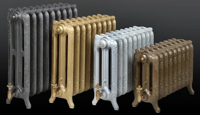 Стильные чугунные радиаторы